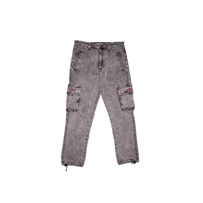 Grey Acid Wash