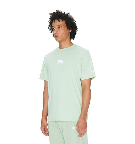 ESSENTIALS WASHED T-SHIRT GREEN