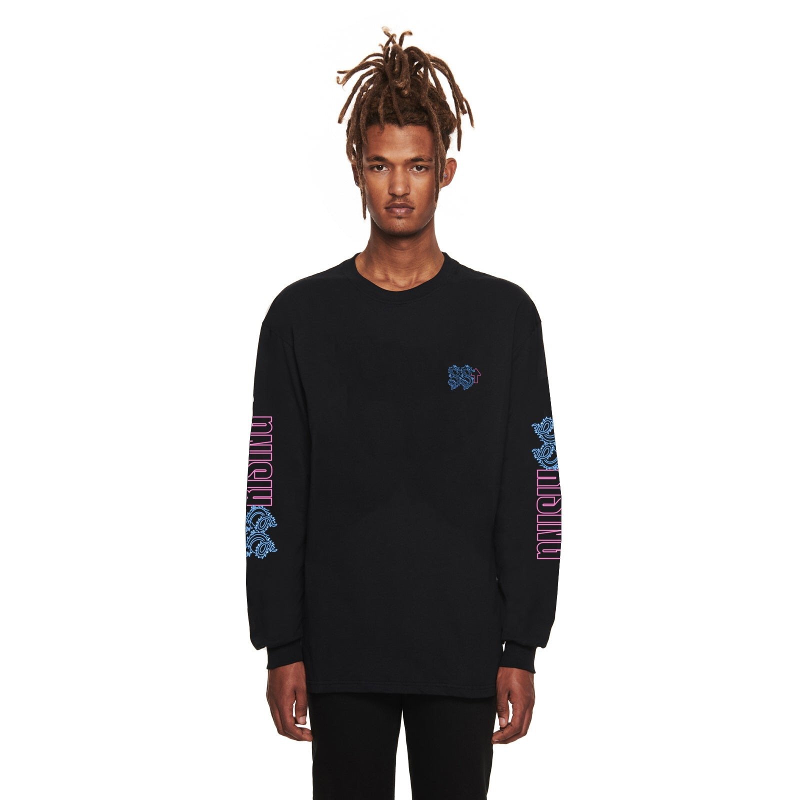 NEON DRAGON GRAPHIC LONG SLEEVE TEE