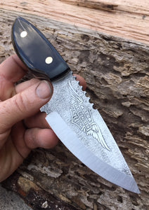 Harley Davidson Themed Custom Knife