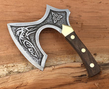 Load image into Gallery viewer, Broad Axe Viking Chef Knife Kitchen Chopper