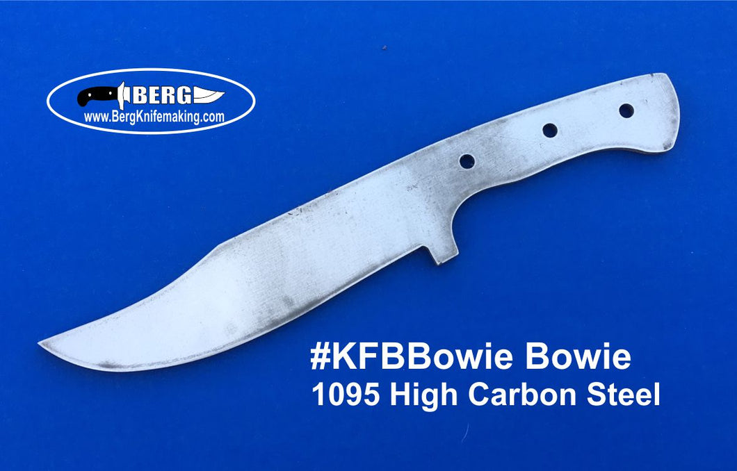 High Carbon Steel Bowie Knife Blank