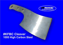 Load image into Gallery viewer, High Carbon Steel Cleaver Knife Blank