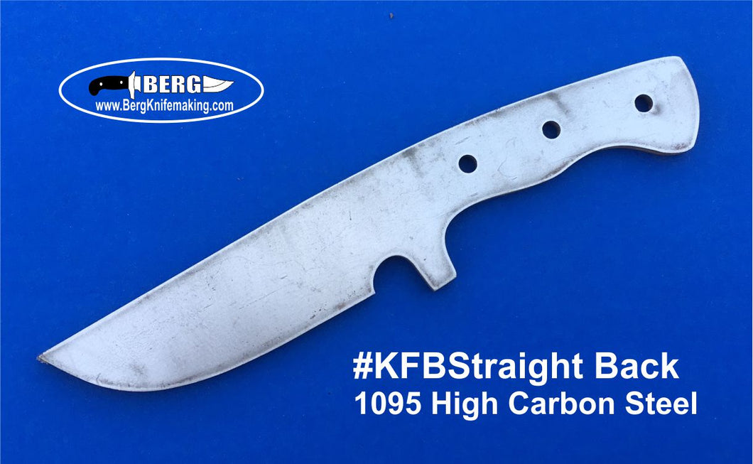 High Carbon Steel Straight Back Knife Blank