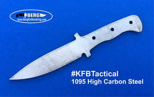 High Carbon Steel Tactical Knife Blank