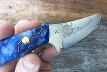 Load image into Gallery viewer, Mariner Hand Made Fixed Blade with Compass Rose blade Etching