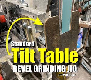 Standard TILT TABLE Knife Bevel Grinding Jig with FREE BOOK