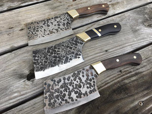 High Carbon Steel Cleaver Knife Blank