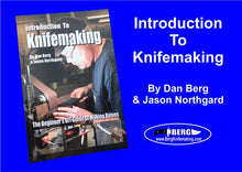Load image into Gallery viewer, Introduction to Knife Making book