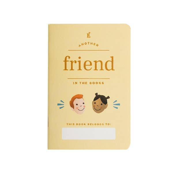 friend, kids, journal, keepsake, writing, notebook