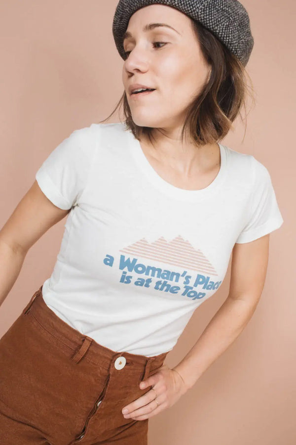 A Woman's Place Is At The Top Tee