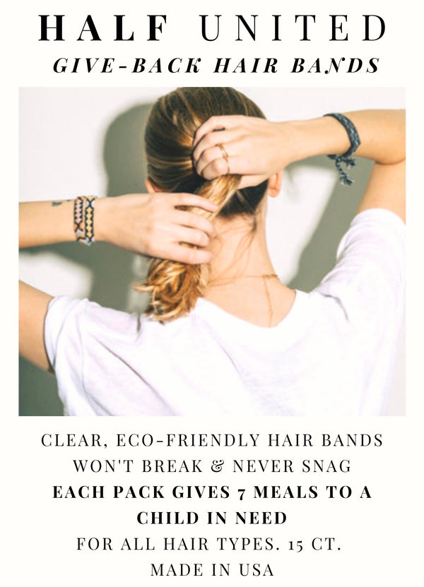 hair bands, eco-friendly, polymer, meals, empower