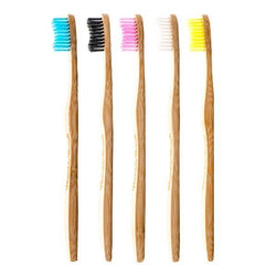 toothbrush, bamboo, bristles, sustainable, biodegradable, teeth, clean, eco-friendly,  socially responsible, blue, black, pink, white, yellow