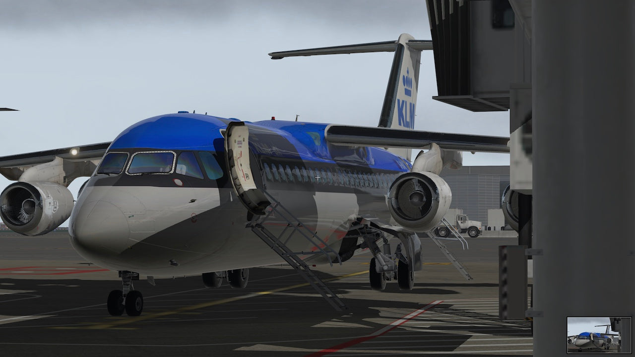 Avro RJ 100 Update for X-Plane 11.50