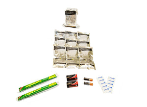 1 Person | 72 Hour Emergency Survival Replacement Supplies Kit | Emergency Preparedness