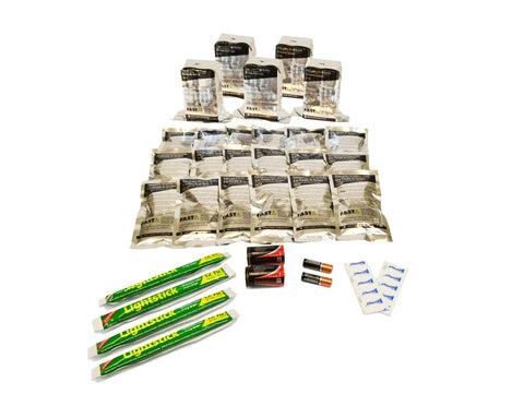 5 Person | 72 Hour Emergency Survival Replacement Supplies Kit | Emergency Preparedness