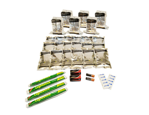 6 Person | 72 Hour Emergency Survival Replacement Supplies Kit | Emergency Preparedness