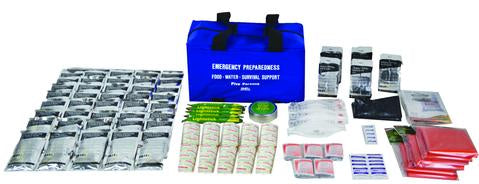 EKIT1020 Food/Water/Survival Support Emergency Kit for 72 Hours