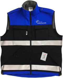 "VEST1930 - Vest, Deluxe ""Dintex"" with Mesh Back Softshell (recycled fabric)"