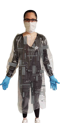 GOWN1000 - F.A.S.T. Level 3 Isolation Gown (with printing)