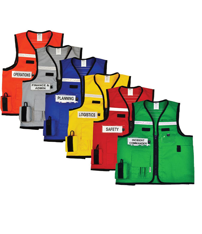 VEST1017.5 - ICS/Unified/EOC Identification Vest