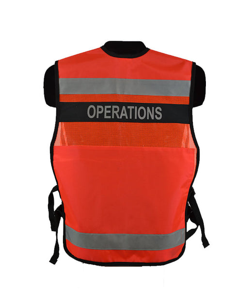 VEST1025 - ICS/Unified Command Vest w/mesh & nylon fabric