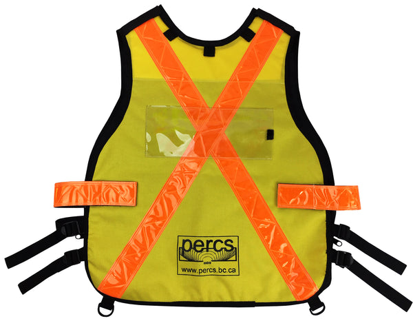VEST1157 or VEST1155 - Search & Rescue (SAR) / Radio Communications Vest with zippered pockets