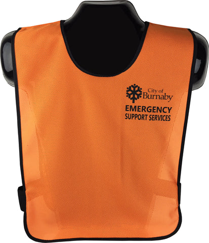 "VEST1218  ""Koolnit"" Volunteer/Special Events Vest (Pinny-Style)"