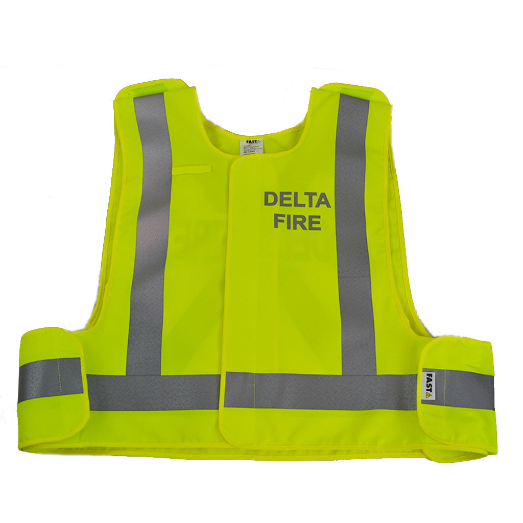 VEST1850.1 - High Visibility Traffic Safety Vest,  CSA Z96-15 Class 2 Level 2 (Fluorescent Lime Yellow)