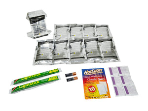 Car or Vehicle 72 Hour Emergency Survival Kit Replacement Supplies