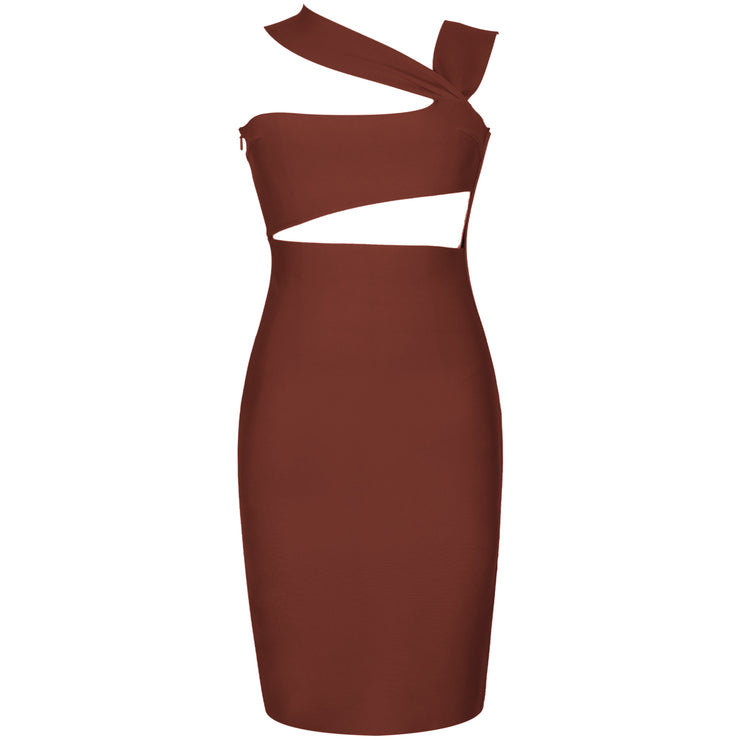 Sleeveless Midaxi Bandage Dress - DERNIER CRI