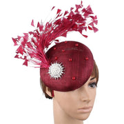 Lady Wonder Fascinator with Feathers - DERNIER CRI