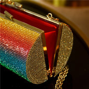 Rainbow Rhinestone Evening Bag - DERNIER CRI