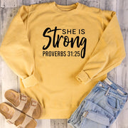 She is Strong Sweatshirt - DERNIER CRI