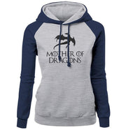 Game of Thrones Hoodie- Navy & Gray - DERNIER CRI