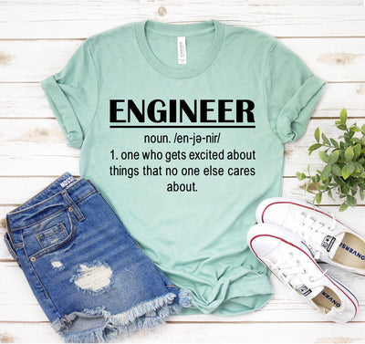 Engineer Definition T-shirt - DERNIER CRI