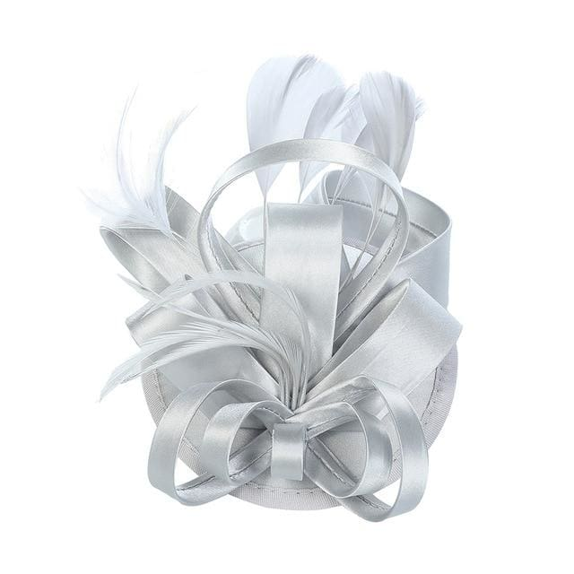 Desert Orchid Ribbon & Feathers Fascinator - DERNIER CRI