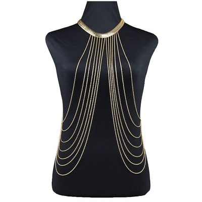 Sucre Harness Body Necklace - DERNIER CRI