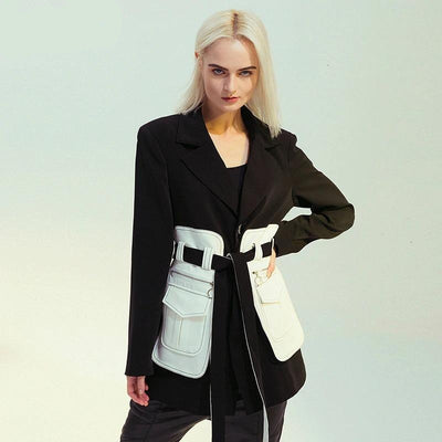 Evie Loose Fit Contrast Colour Jacket - DERNIER CRI