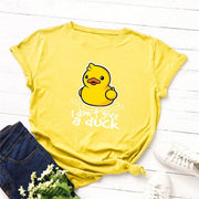 Give a Duck T-Shirt - DERNIER CRI
