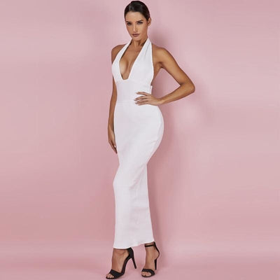 Jade Backless Bandage Dress - DERNIER CRI