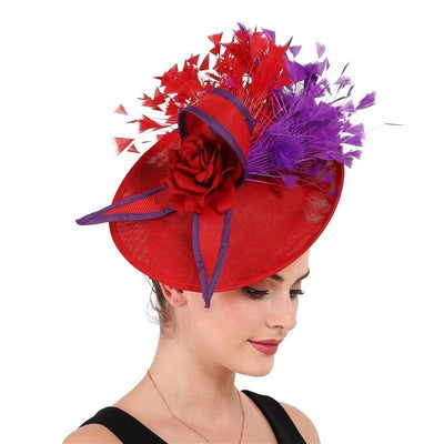 Seabiscuit Feather Fascinator - DERNIER CRI