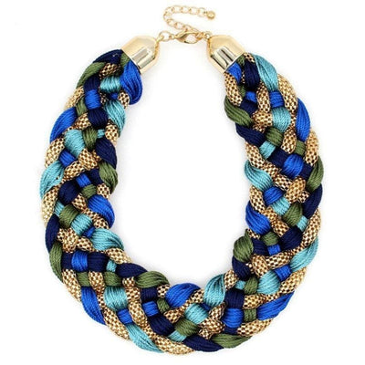 Shani Weaved Necklace - DERNIER CRI