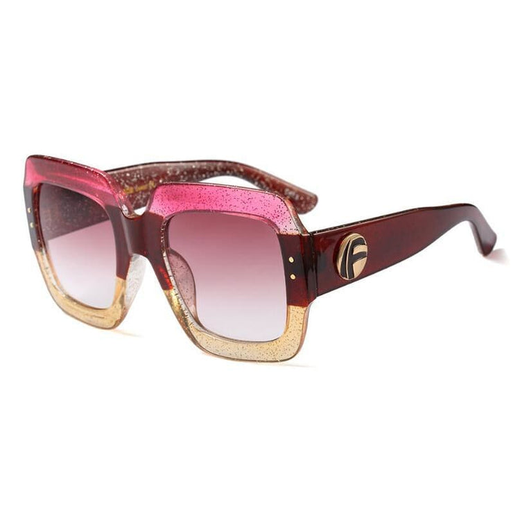 Stylish Oversized Sunglasses - DERNIER CRI