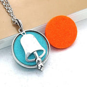 Aroma Diffuser Pendant Necklace With Pads, Bell - DERNIER CRI