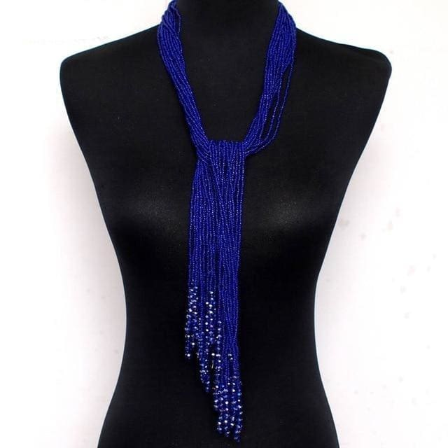 Zahara Beaded Long Necklace - DERNIER CRI