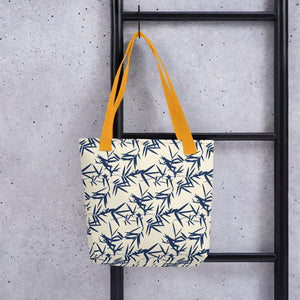 Japanese Bamboo Leaves Tote bag