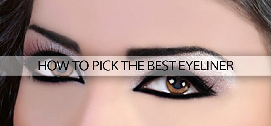 How to pick best eyeliners
