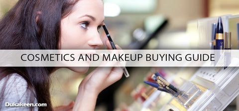 cosmetics and makeup buying guide