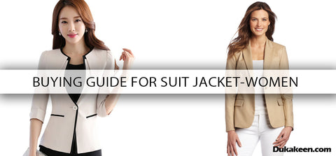 Buying guide for suit jacket - Women